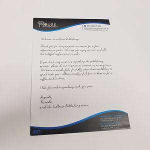 letterhead printing and design